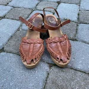 Urban Outfitters Wooden Clog